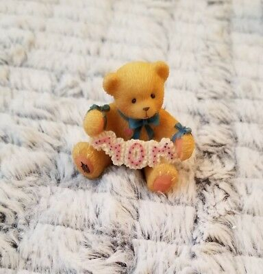 Cherished Teddies Worlds Greatest Mom Figurine #476773