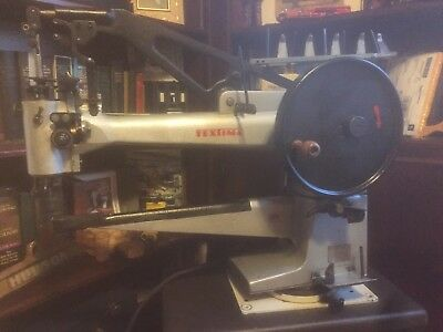 Claes sewing machine long arm patcher With Motor shoe repair Shop equipment