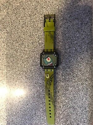 2004 Burger King Spondgebob Digital Watch - Plankton