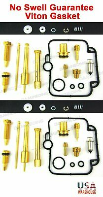 2X Carburetor carb Repair Rebuild Kit SUZUKI 1989 - 2000 GS500 GS 500 GS500E-US