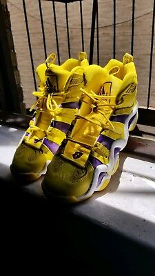 484311e5f3932d ADIDAS CRAZY 8 (Lakers Team Edition) (Yellow
