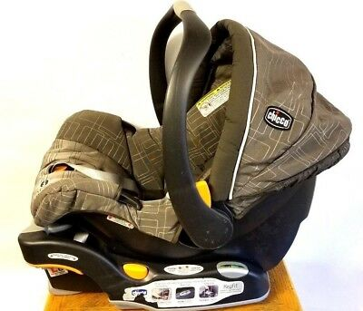 Chicco KeyFit 30 Cubes Infant Car Seat Only VG USED EXP MAY 2014 Base JUL