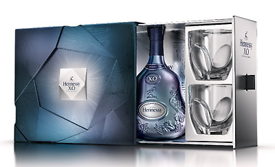 Hennessy Xo Limited Edition 2018 With 2 Glass Gift Pack 700Ml Cognac