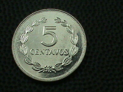 EL SALVADOR   5 Centavos   1993   UNC   ,    $ 2.99  maximum  shipping  in  USA