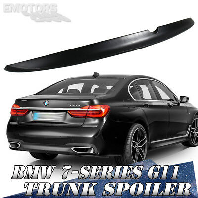 Painted ABS For BMW 7-Series G11 G12 Saloon A Type Trunk Boot Spoiler 16-19 730d