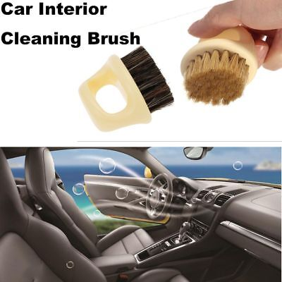 Auto Detailing Car Brush Car Auto Care Hard and Soft Bristle For Leather Seat HQ