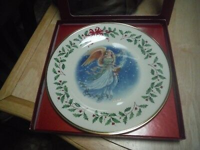 Lenox 2003 Annual Holiday Collector Plate Angel Original Box w/Paperwork