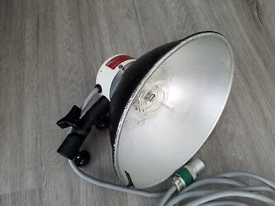 (1) Norman LH2000 Lamphead Strobes with bulb and reflector