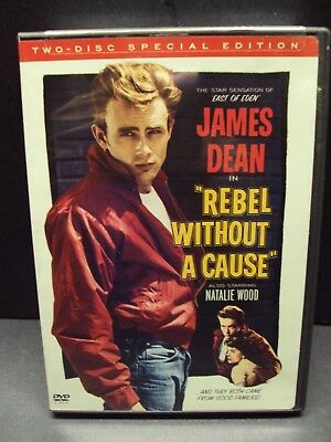 Rebel Without A Cause Dvd New James Dean Natalie Wood Sal Mineo 2