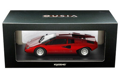 Kyosho 1 18 Lamborghini Countach Lp 400 Diecast Model Car Red