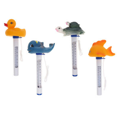 4PCS Floating Swimming Pool Hot Tub Thermometer Water Temperature Tester