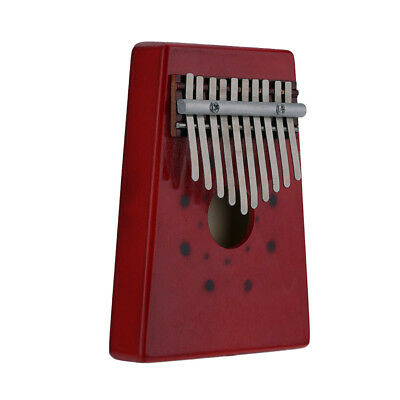 10 Key African Mahogany Wooden Mbira Kalimba Thumb Piano Finger Percussion TR