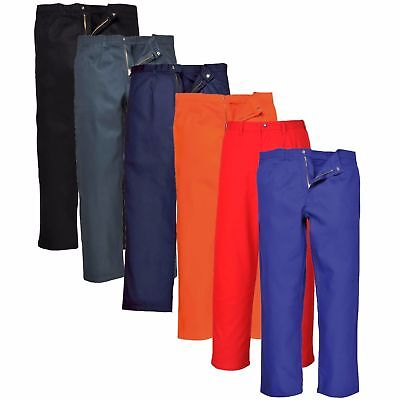 Portwest Bizweld Trousers Welding Elasticated Waist Flame Resistant BZ30