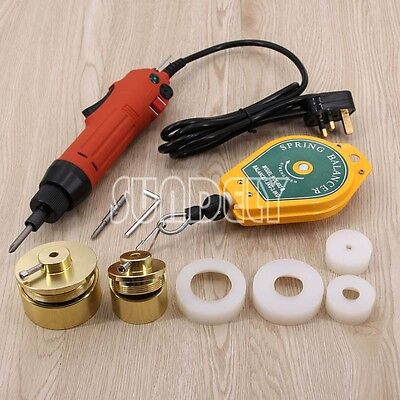 Handheld Bottle Capping Machine Electric Screw Capper Sealing Machine 220V