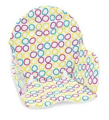 Mothercare MyHi Highchair Cushion Padded Insert- Circles - Fits Most Highchairs