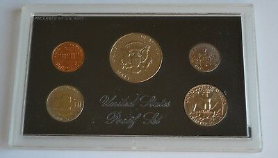 1972 United States Mint Proof Set 5 Coin Set