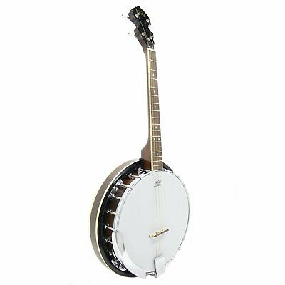 Koda FBJ2417, 4 String 17 Fret Tenor Beginner Banjo, Mahogany Neck & Resonator