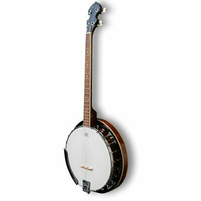 Koda FBJ2419, 4 String 19 Fret Tenor Beginner Banjo, Mahogany Neck & Resonator