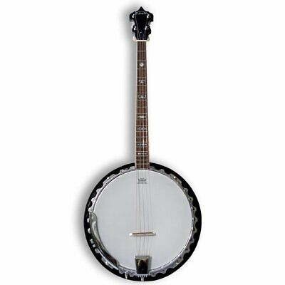 Koda FBJ3419, 4 String 19 Fret 30 Bracket Tenor Banjo, Mahogany Neck & Resonator