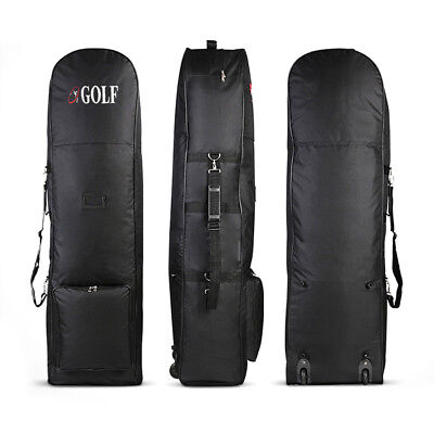 Travel Sport Golf Air Package Golf Protective Carrying Bag Cases with Wheels