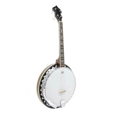 Koda FBJ3417, 4 String 17 Fret 30 Bracket Tenor Banjo, Mahogany Neck & Resonator