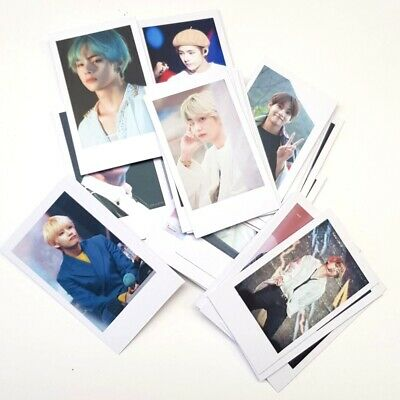 50pcs Kpop BTS Lomo Card BANGTAN BOYS J-HOPE SUGA JIMIN HD Polaroid Photo