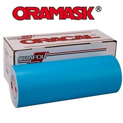 ORAMASK 813 Paint Mask Stencil 3mil, Adhesive Water-based - 24 x 50YD Roll