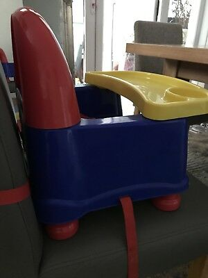 childs table booster seat