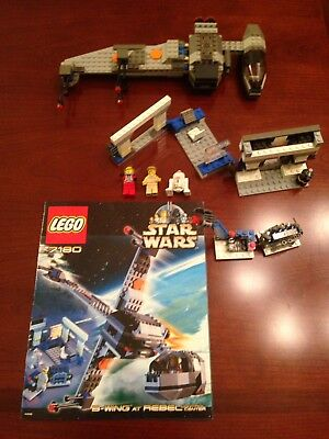 Lego Star Wars 7180 B Wing At Rebel Control Center 100 W