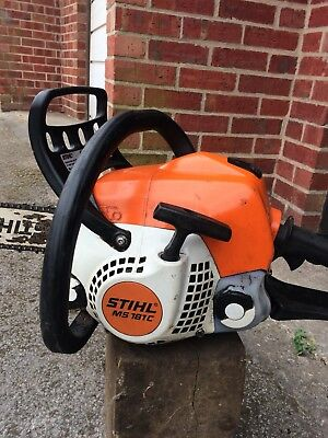 used sthil chainsaw 181c easy start