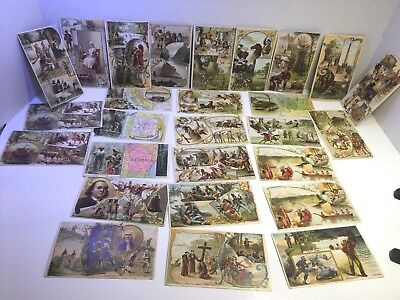 VINTAGE TRADE CARDS Arbuckels' Ariosa Coffee 27 various States on front Gorgeous