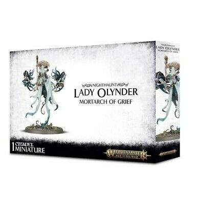Nighthaunt Lady Olynder Games Workshop Brand New 99120207064