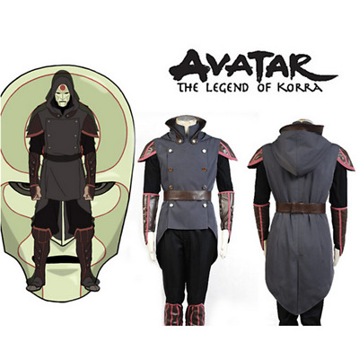 Avatar The Legend of Korra Amon Outfit Cosplay Costume Custom Made