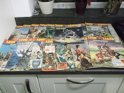 45 issues  of Look and Learn magazines from 1969
