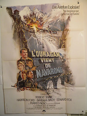 Force 10 From Navarone 1978 Large French poster Robert Shaw, Harrison Ford N/M