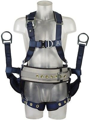 DBI-SALA Safety Harness iSafe Padded Full Body Derrick ExoFit Fall Arrest Medium