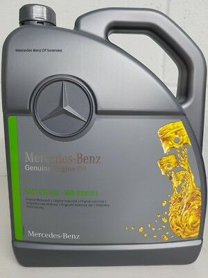 5L GENUINE MERCEDES Benz 5W30 Low Ash SAPS Engine Oil MB 229 51 Fully  Synthetic