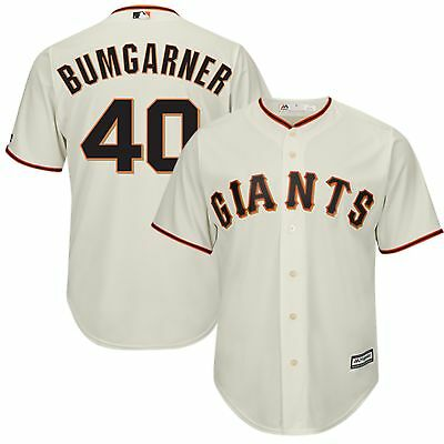 MLB San Francisco Giants Madison Bumgarner Heim Baseball Trikot Shirt Herren
