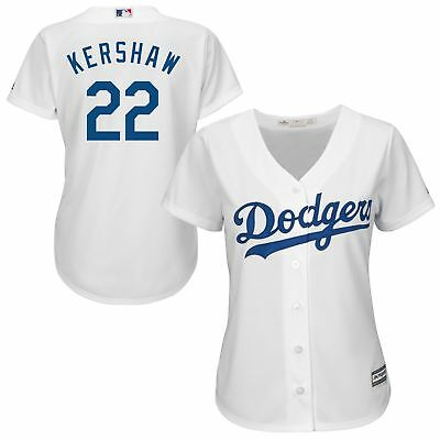 MLB Los Angeles Dodgers Clayton Kershaw Heim Trikot Baseball Shirt Damen