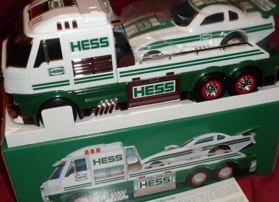 2016 Hess Toy Truck And Dragster. New In Sealed Box.