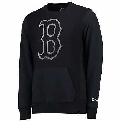 MLB Boston Red Sox 47 Reverse French Frottee Pullover Sweatshirt Sweater Herren