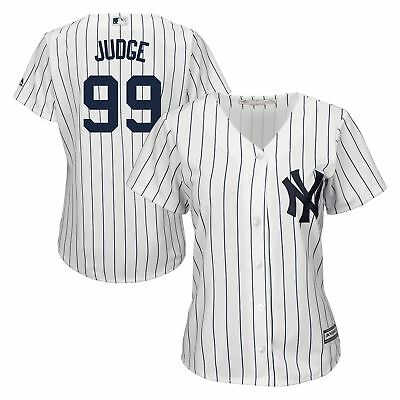 MLB New York Yankees Aaron Judge Heim Replik Trikot Baseball Shirt Damen