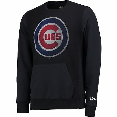 MLB Chicago Cubs 47 Rundhals French Frottee Pullover Sweatshirt Sweater Herren