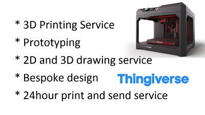 3D Printing Service ..Prototype / Commercial / Hobby SAME DAY PRINTING SERVICE