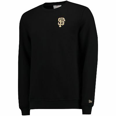 MLB San Francisco Giants New Era Pop Rundhals Pullover Sweatshirt Top Herren