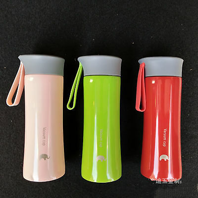 Portable Vehicle Stainless Steel Vacuum Thermos Cup Water Tea Bottle Travel Mug