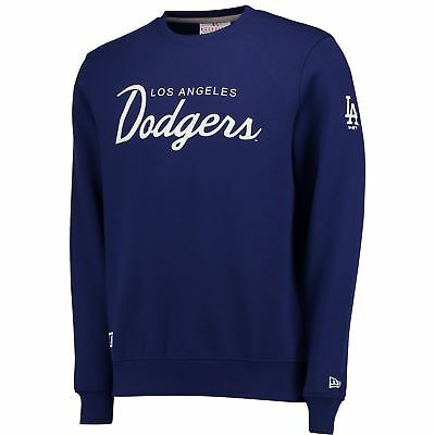 MLB Los Angeles Dodgers New Era Rundhals Pullover Sweatshirt Sweater Top Herren