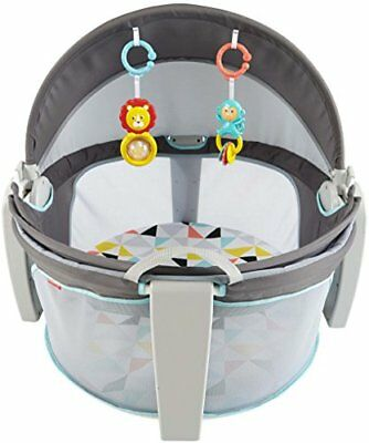 Fisher-Price On-the-Go Baby Dome Windmill Play Shades Tents Gear