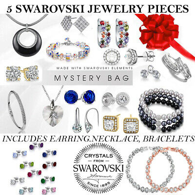Paparazzi 10pc Mystery Bag $50+ Mixed Jewelry-Necklaces-Earrings-Bracelets-Rings