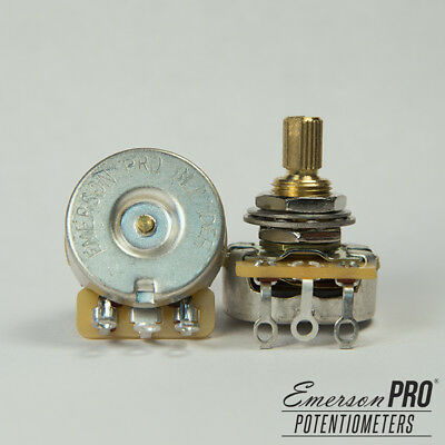 "Emerson Custom/CTS 250K Blender Potentiometer Short (3/8"") Split Shaft"
